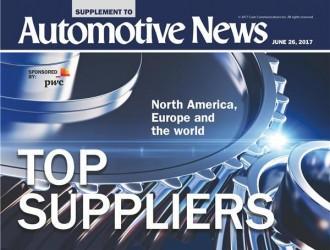 全球汽车零部件供应商百强榜:5家中国企业入围