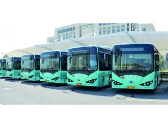 随州206路公交更换成纯电动空调车 促进环保出行
