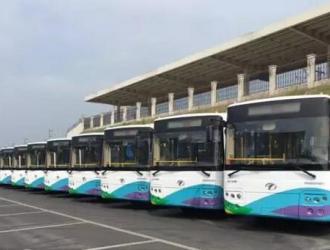 安源纯电动客车批量交付 助萍乡公交新能源化
