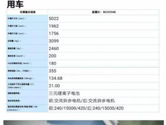 蔚来ES8参数提前曝光,这次是蔚来App中发现的彩蛋