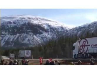 芬兰挪威合作互联智能交通系统 测试卡车车队的车辆结队技术