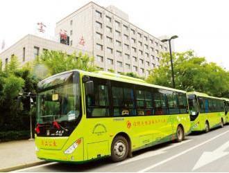 """助阵""""沈阳蓝"""" 300辆环保新能源公交车上线"""