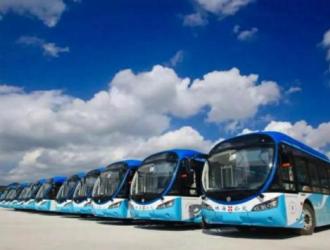 银隆首批纯电动公交车落户珠海