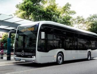 奔驰推出电动版公交车Citaro,最早年内交付首批订单