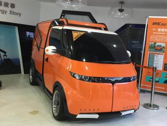 超威集团加速转型升级,三款纯电动物流车面市!