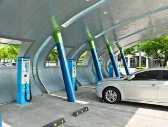 中山建充电桩可获财政补贴,高达100万元/站