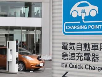 充电时间不到10分钟 中日合作研发电动汽车快速充电桩