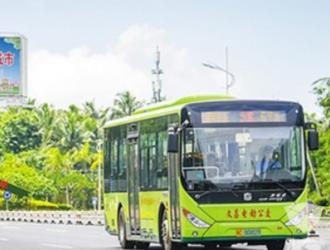 首批中通纯电动公交投放,海南文昌迈入低碳