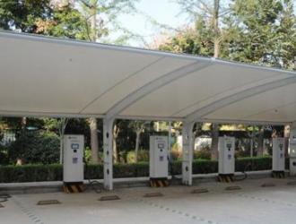 商洛市首批新能源汽车充电桩正式启动运营