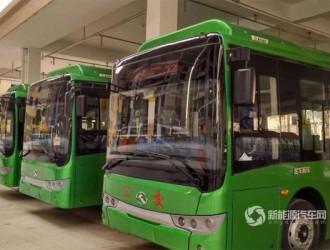 福建泉州:安溪县33辆新能源公交即将上路
