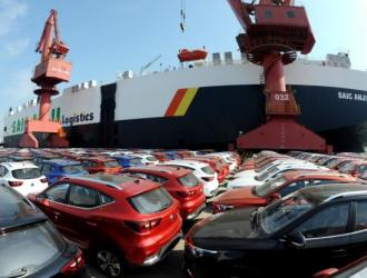 2019年上半年中国汽车出口量达48.7万辆
