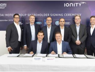 现代汽车新举措 投资IONITY高功率充电网络