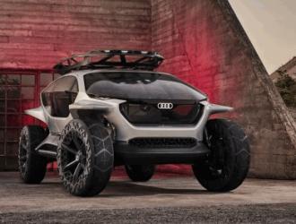 奥迪发布新全电动概念越野车:用无人机取代车大灯