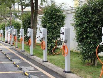 一批充电桩在海口开工建设,公共1506个自用340个