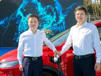 小鹏汽车/特来电合建首个超级充电站