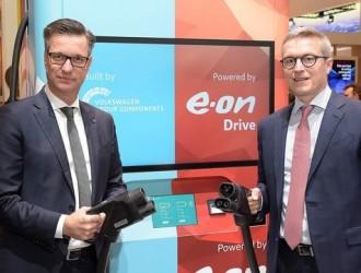 大众集团和能源集团E.ON合作,布局移动充电桩