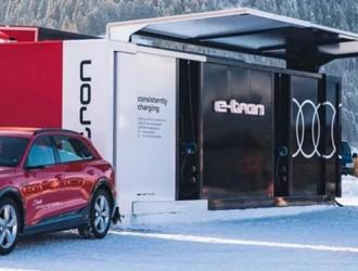 与瑞士ABB集团共同研发/15分钟快充 奥迪电动汽车充电系统