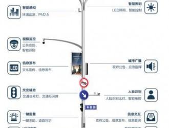腾讯云发布一个解决方案 路灯变身wifi、充电桩、报警器