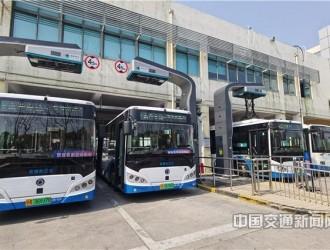 上海自贸区临港新片区主城区纯电动公交全覆盖