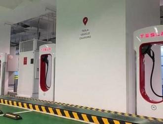 香港首座特斯拉V3充电桩落成