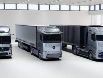 续航超1000公里 奔驰发布3款新能源卡车