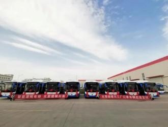 """""""银川造""""比亚迪客车批量出货,已接订单超200台"""