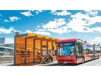 中国电动大巴车 助力欧洲绿色出行
