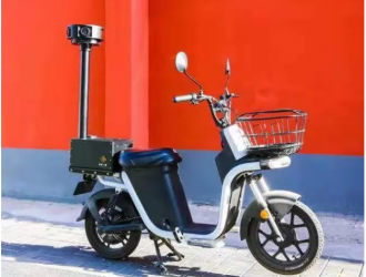"""电动自行车变""""移动探头""""!北京停车电子收费用上新装备"""
