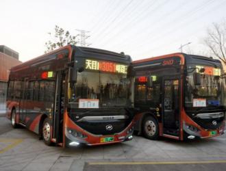 """新线路开通!30辆海格纯电公交打通苏州新区""""最后一公里"""""""