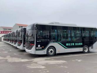 推进城区绿色出行,武穴公交又批量采购电车