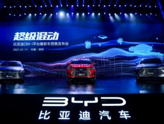 比亚迪1月新能源车销量20178辆