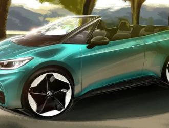 大众考虑推敞篷电动汽车 将基于ID.3打造