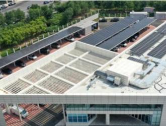 天津:光伏发电新能源车综合充电站启用